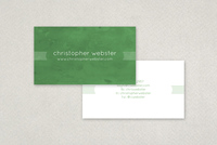 Minimalist Deco Business Card Template
