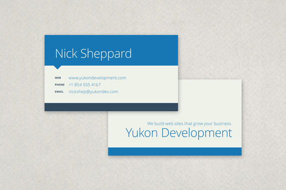 Business Card Templates Business Card Design Samples Inkd - Business card template pages