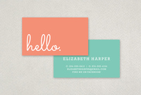 Bold Fun Business Card Template