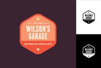 Hexagon Badge Logo Design Template