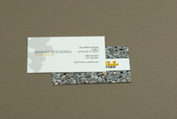 Custom Landscaping Business Card Template