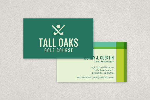 Modern golf business card template inkd modern golf business card template colourmoves