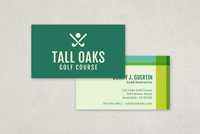 Modern Golf Business Card Template