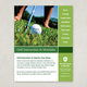 Golf Instruction Grid Flyer Template