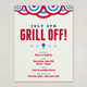 Summer BBQ Picnic Flyer Template