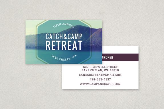 Outdoor retreat business card template inkd outdoor retreat business card template reheart Gallery