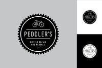 Bike Repair Logo Design Template