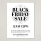 Black Friday Flyer Design Template