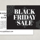 Black Friday Postcard Design Template