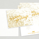 Seasons Greetings Holiday Greeting Card Template