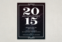 Elegant New Years Flyer Template