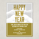 Friends New Years Flyer Template
