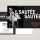 Contemporary Ballet Postcard Template