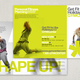 Contemporary Fitness Club Brochure Template