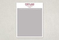 Contemporary Ballet Letterhead Template