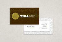 Exclusive Spa Business Card Template