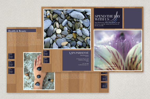 Health Spa Brochure Template  Inkd