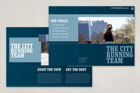 Running & Walking Brochure Template