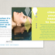 Wellness Diamond Postcard Template