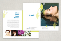 Wellness Diamond Brochure Template