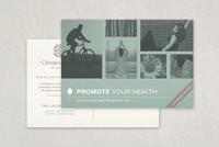 Chiropractic Practice Postcard Template