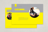 Personal Trainer Postcard Template