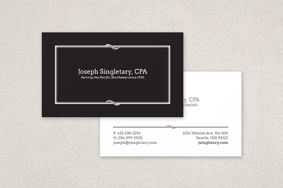 Classic black business card template inkd classic black business card template colourmoves