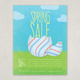 Spring Sale Easter Flyer Design Template