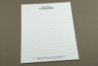 Dry Cleaners Letterhead Template