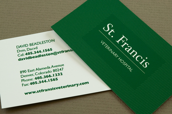 Green veterinary business card template inkd green veterinary business card template colourmoves