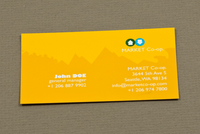 Market Co-op Business Card Template