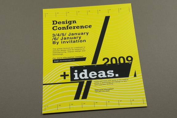 Contemporary Design Conference Flyer Template – Conference Brochure Template