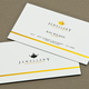 Classic Jeweler's Business Card Template