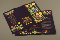 Graphic Farmer's Market Brochure Template