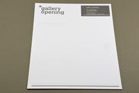 Contemporary Gallery Letterhead Template