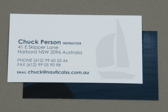 classic sailing school business card template inkd