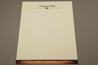 Antique Store Letterhead Template
