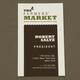 Earthy Farmers Market Business Card Template
