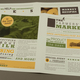 Earthy Farmers Market Newsletter Template