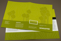 Landscape Design Newsletter Template