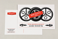 Automotive Repair Service Postcard Template