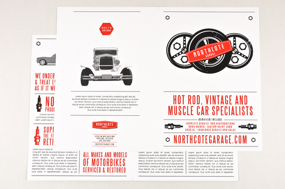 Automotive Repair Service Brochure Template Inkd
