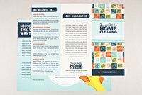 Cheery Homecleaning Brochure Template