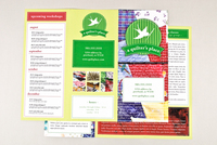 Quilt Shop Brochure Template