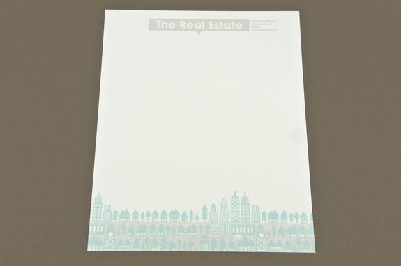 illustrative real estate letterhead template inkd