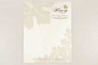 Rustic Winery Letterhead Template