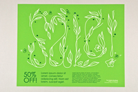 Spring Sale Retail Flyer Template
