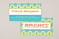 Bright Cleaning Business Card Template