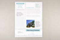 Illustrative Real Estate Datasheet Template