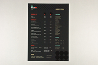 Pizza Pi Restaurant Menu Template